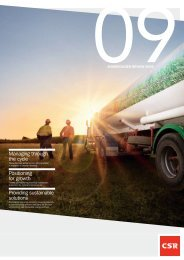 Shareholder review - CSR
