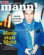 Mode statt Mord - FOCUS MediaLine