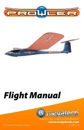 Prowler Instruction Manual - High Definition Radio Control
