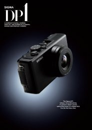 SIGMA DP1 - Brochure - English Language