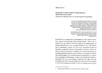 Martfied Krtoehe Das  Kapital als ... - O.Univ.Prof.Dr. Manfred Knoche