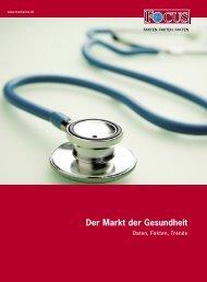 Der Markt der Gesundheit - FOCUS  MediaLine