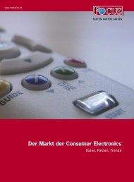 Der Markt der Consumer Electronics - FOCUS MediaLine
