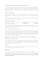 General Terms and Conditions for the Erzberg Rodeo (GTC) In order ...
