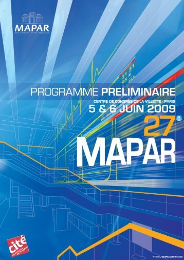Programme du samedi 6 juin - Mapar