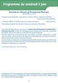 Programme du samedi 6 juin - Mapar - Page 6