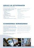 service im ostuferhafen - Port of Kiel - Page 6