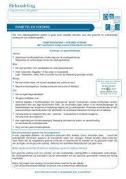 Diabetes en voeding - Apotheek Leuridan A