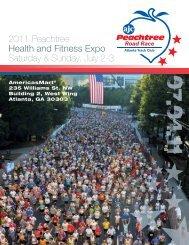 2011 Peachtree Health and Fitness Expo Saturday & Sunday, July 2-3