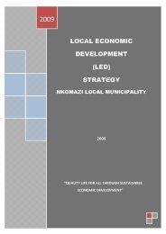 Nkomazi Local Municipality Strategy - Co-operative Governance ...