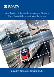 Identification Solutions for Aerospace, Defence, Mass Transit ...