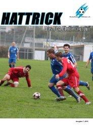 Clubmagazin Hattrick Ausgabe 7/2010 - FC Affoltern am Albis