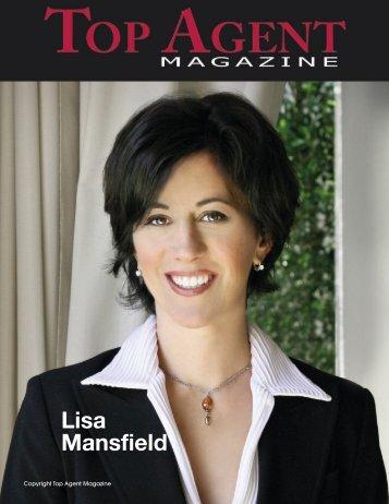 Lisa Mansfield - Top Agent Magazine