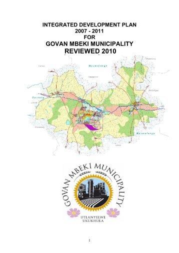 Govan mbeki municipality