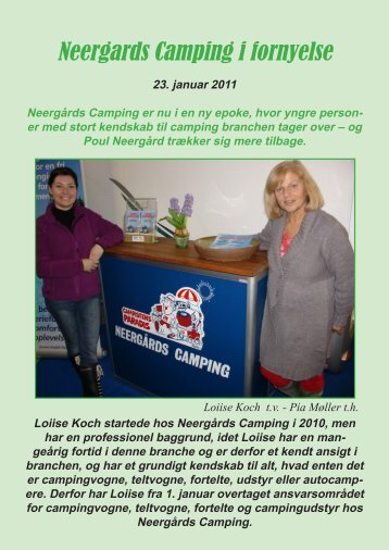 Neergards Camping i fornyelse - Campisternes Rejseportal