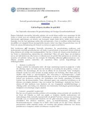 30 november, 2012 www.g12.se Call for Papers, deadline 16 april ...