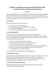 Richtlinien zur Erstellung einer wissenschaftlichen Abschlussarbeit ...