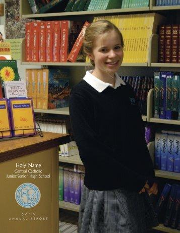 B&G Postcard.qxd - Holy Name Junior Senior High School