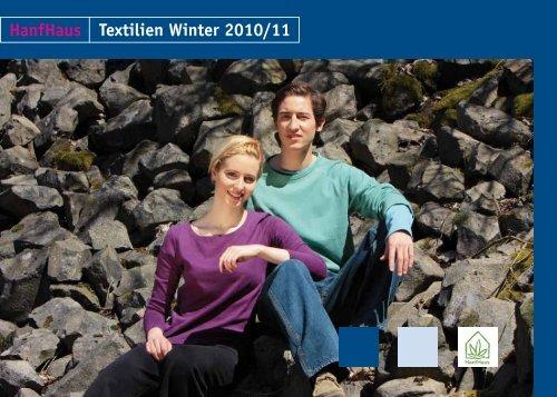 HanfHaus Textilien Winter 2010/11