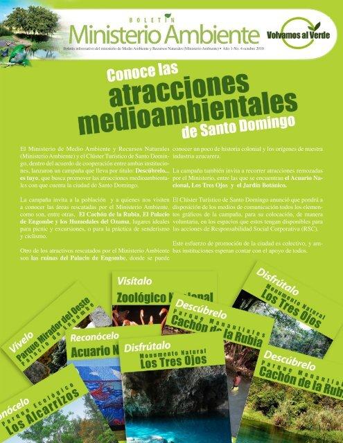 El Ministerio de Medio Ambiente y Recursos Naturales (Ministerio ...