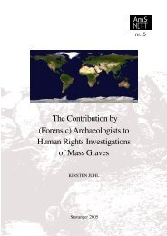 Archaeologists In Human Rights Investigations Of Mass ... - TamilNet