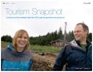 Read the Tourism Snapshot – April 2011 in full. - Canadian Tourism ...
