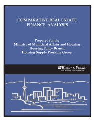Comparative Real Estate - Finance Analysis - Canadian Federation ...
