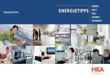 ENERGIETIPPS - Mengen