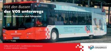 Mit den Bussen der VOS unterwegs