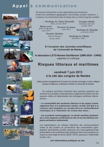 Mise en page 1 - LETG - Université de Nantes