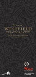 Westfield Stratford City brochure - British Airways