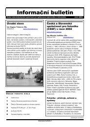 rok 2003 (pdf, 155 kB) - Český svaz vědeckotechnických společností