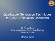 Quadrature Generation Techniques in CMOS Relaxation Oscillators