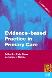 Evidence-based Practice in Primary Care