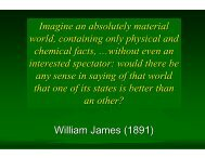 Imagine an absolutely material world, containing only physical and ...