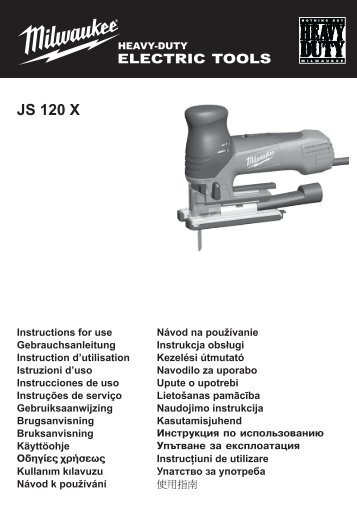JS 120 X - MELPRO