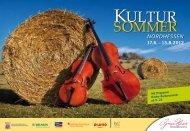 Mit Programm Kinder Kultursommer ab S. 23 - Melsungen