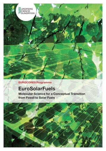 EuroSolarFuels - European Science Foundation