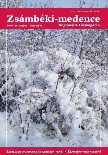 2010 NOVEMBER-DECEMBER PDF-ben letölthető - Zsámbéki ...