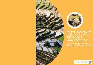 Concept Paper for Mekong Region Programme - International ...