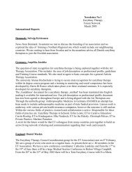 Newsletter No 1 Eurythmy Therapy Forum Network March 2005 ...