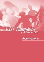••Libro Capitolo 1 - Presentazione Rapporto Sanità