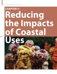 Chapter 7: Reducing the Impacts of Coastal Uses - NOAA Coral ...