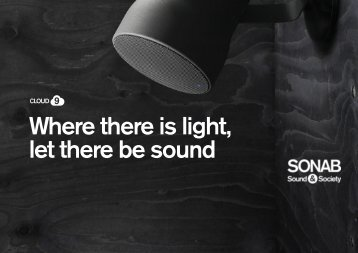 Where there is light, let there be sound