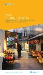 Global Catalogue - iMercer.com