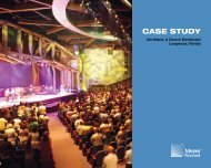 Northland Church Case Study - Meyer Sound Laboratories Inc.