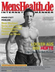 Besser-im-Bett-Workout - Men's Health