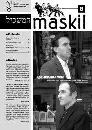 č.8 - Maskil