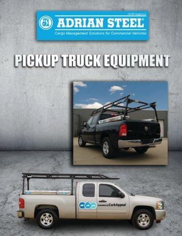 View Pickup Catalog - Adrian Steel