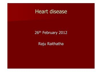 Heart disease - VaishnavSangh.org.uk